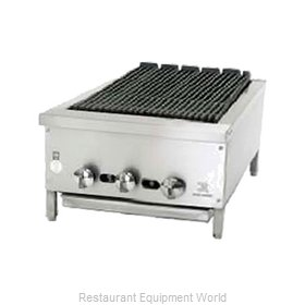 Jade Range JB-18 Charbroiler Gas Counter Model