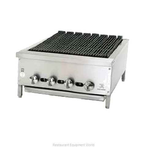 Jade Range JB-24 Charbroiler Gas Counter Model (Magnified)