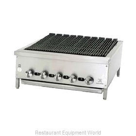 Jade Range JB-30 Charbroiler Gas Counter Model