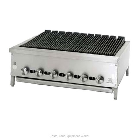 Jade Range JB-36 Charbroiler Gas Counter Model (Magnified)