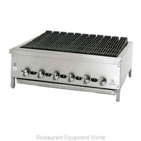 Jade Range JB-36 Charbroiler Gas Counter Model