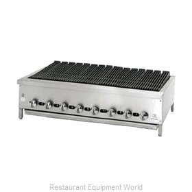 Jade Range JB-48 Charbroiler Gas Counter Model