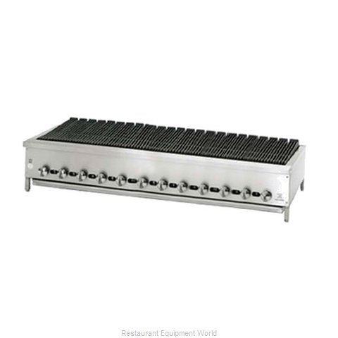 Jade Range JB-72 Charbroiler Gas Counter Model (Magnified)