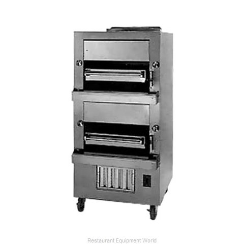 Jade Range JBB-236 Broiler, Deck-Type, Gas