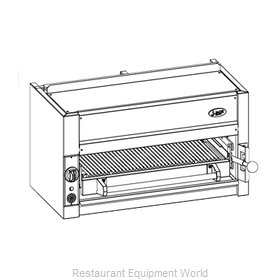 Jade Range JBR-JB36-RM Salamander Broiler, Gas