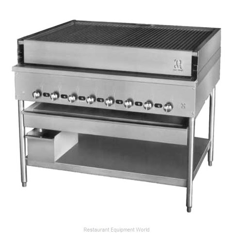 Jade Range JCBH-48 Chicken Charbroiler, Gas (Magnified)