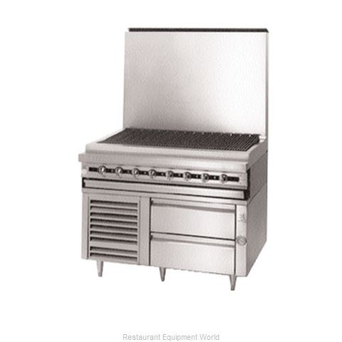 Jade Range JFLH-02S-T-48 Freezer Base Self-Contained