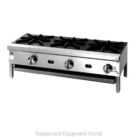 Jade Range JHP-1060-F Hotplate, Floor Model, Gas