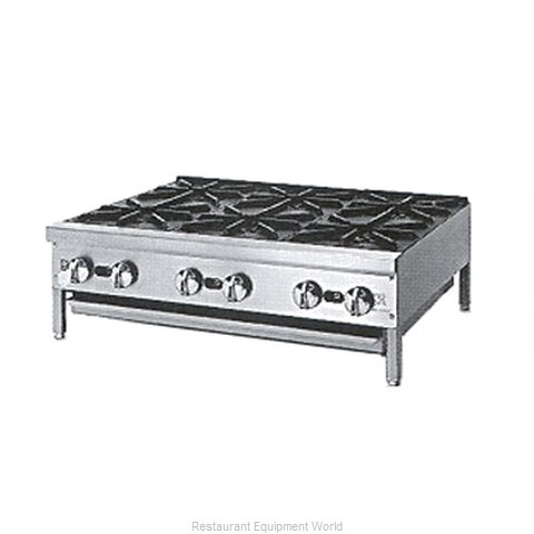 Jade Range JHP-636 Hotplate, Countertop, Gas