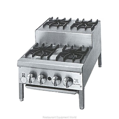 Jade Range JHPE-2-218 Hotplate, Countertop, Gas (Magnified)