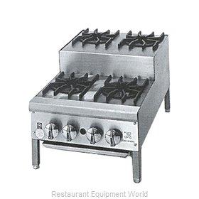 Jade Range JHPE-2-218 Hotplate, Countertop, Gas