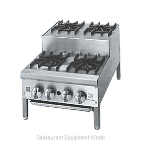 Jade Range JHPE-4-436 Hotplate, Countertop, Gas