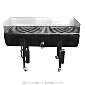Jade Range JMBR-36 Charbroiler, Wood Burning