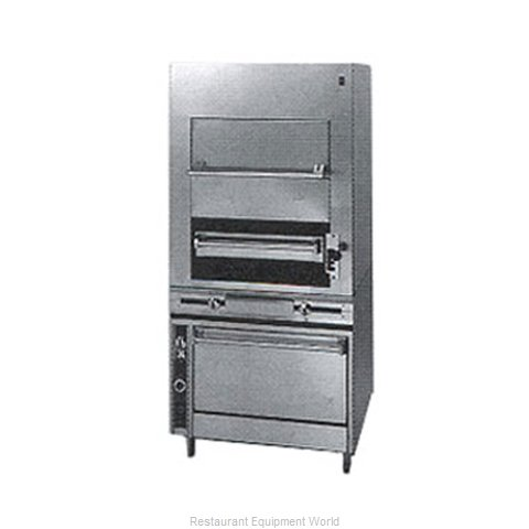 Jade Range JMHBI-36 Broiler, Deck-Type, Gas