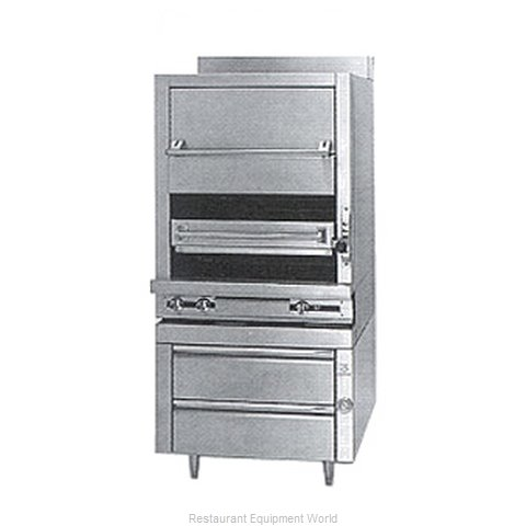 Jade Range JMHBR-36 Broiler Deck-Type Gas