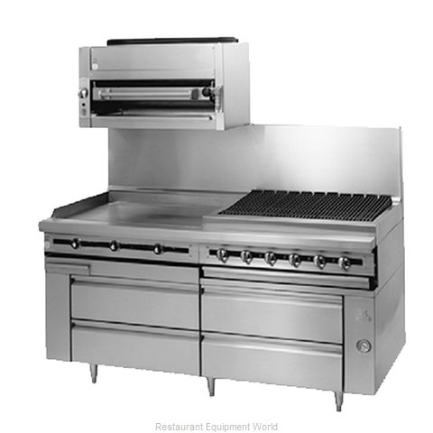 Jade Range JMRH-72G Griddle Gas Heavy Duty Range Match