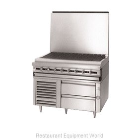 Jade Range JRLH-02S-T-48 Equipment Stand, Refrigerated Base