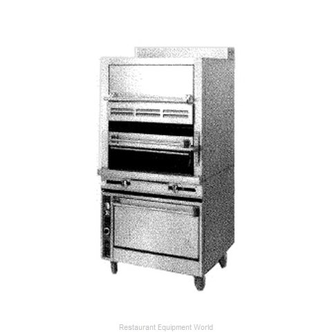 Jade Range JSHBR-36-36C Broiler Deck-Type Gas (Magnified)