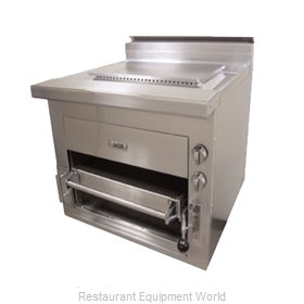 Jade Range JSHBR-36 Broiler, Deck-Type, Gas