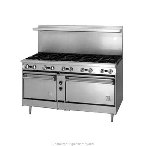 Jade Range JSR-12-3636C Range 72 12 Open Burners (Magnified)