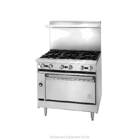 Jade Range JSR-24G-2-36 Range 36 2 open burners 24 griddle (Magnified)