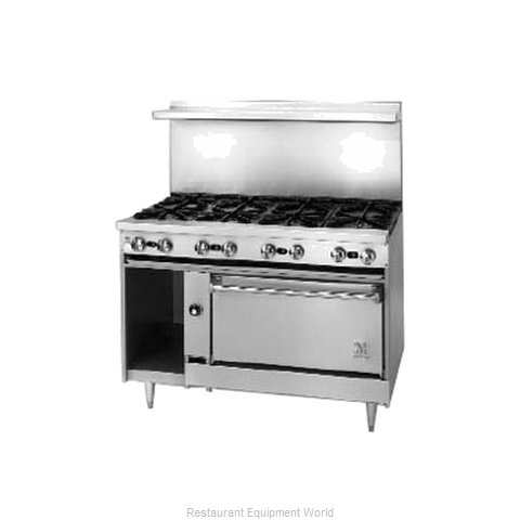 Jade Range JSR-4-24G-36C Range 48 4 Open Burners 24 griddle
