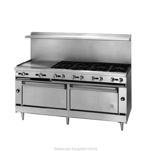 Jade Range JSR-8-24G-3636 Range 72 8 Open Burners 24 Griddle