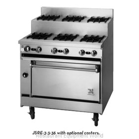 Jade Range JSRE-4-4 Range 36 8 Step-Up Burners