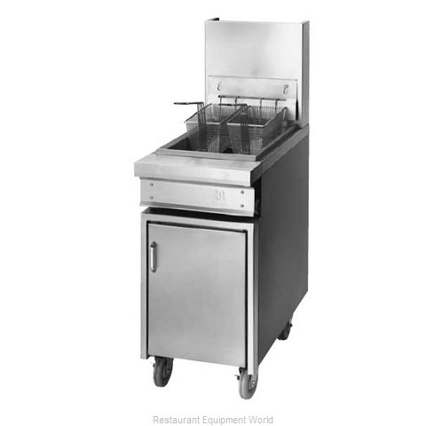 Jade Range JTFF-40-18 Fryer, Gas, Floor Model, Full Pot
