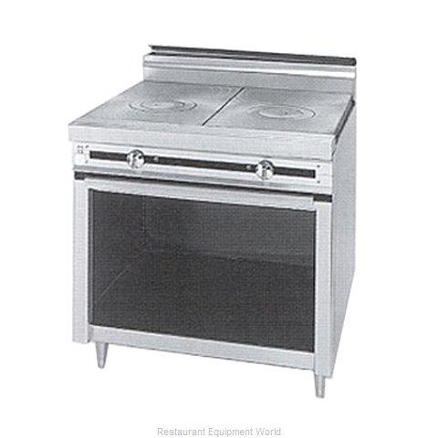 Jade Range JTRH-1FHT Hot Top Gas Heavy Duty Range