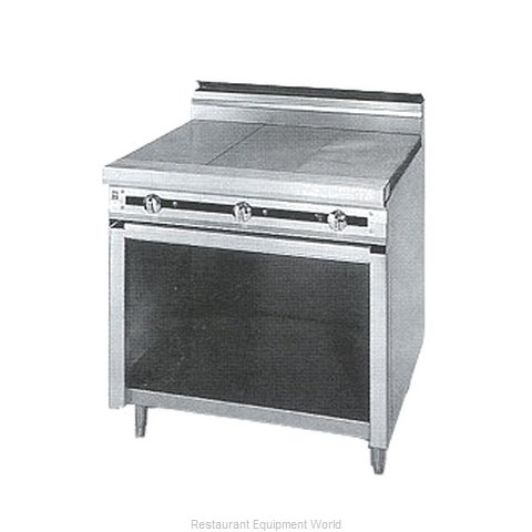 Jade Range JTRH-1HT-A Hot Top Gas Heavy Duty Range