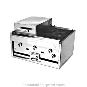 Jade Range KC-36 Charbroiler Gas Counter Model