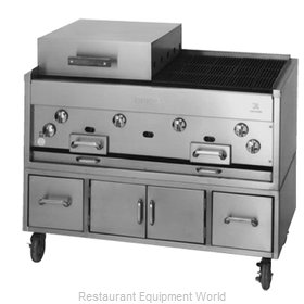 Jade Range KC-48 Charbroiler Gas Counter Model