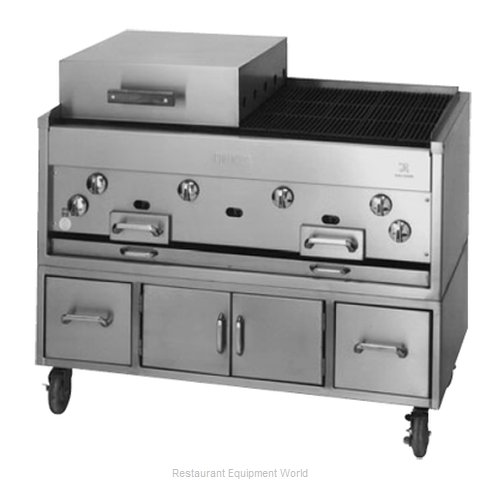 Jade Range KC-60 Charbroiler Gas Counter Model (Magnified)