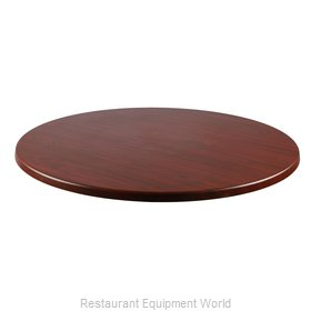 JMC Food Equipment 24 ROUND ACAJOU Table Top, Solid Surface