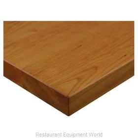 JMC Food Equipment 24 ROUND BEECHWOOD PLANK CHERRY Table Top, Wood