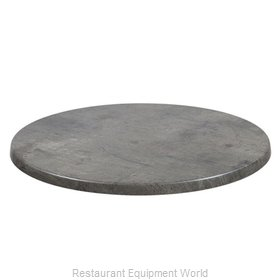 JMC Food Equipment 24 ROUND CONCRETE Table Top, Solid Surface