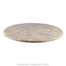 JMC Food Equipment 24 ROUND NEVADA Table Top, Solid Surface
