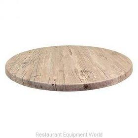 JMC Food Equipment 24 ROUND WASHINGTON PINE Table Top, Solid Surface