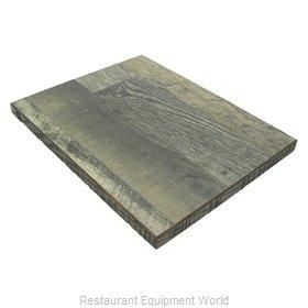 JMC Food Equipment 24X24 BARNWOOD LAMINATE Table Top, Laminate