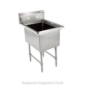 John Boos 1B16204 Sink, (1) One Compartment