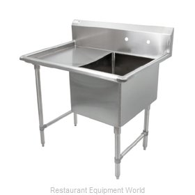 John Boos 1B18244-1D18L Sink, (1) One Compartment