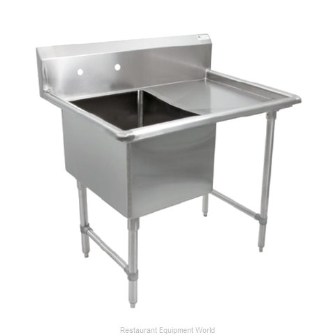 John Boos 1B18244-1D18R Sink, (1) One Compartment (Magnified)