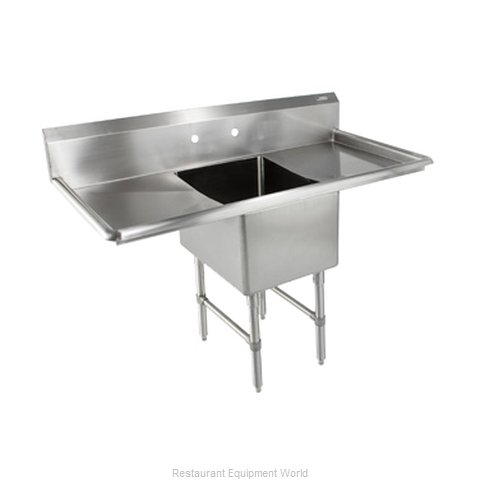 John Boos 1B18244-2D24 Sink, (1) One Compartment
