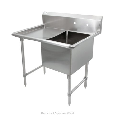 John Boos 1B244-1D24L Sink, (1) One Compartment