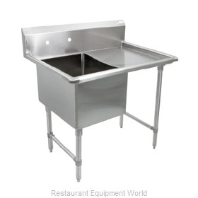John Boos 1B244-1D24R Sink, (1) One Compartment