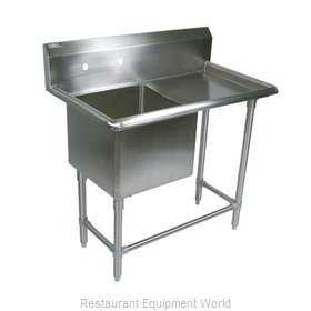 John Boos 1PB1620-1D24R Sink, (1) One Compartment