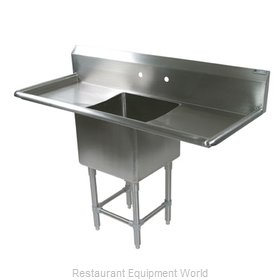 John Boos 1PB1620-2D24 Sink, (1) One Compartment