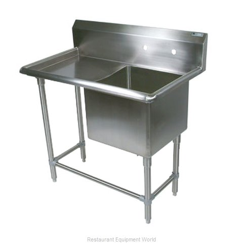 John Boos 1PB1824-1D18L Sink 1 One Compartment (Magnified)