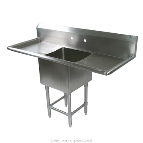 John Boos 1PB1824-2D18 Sink, (1) One Compartment